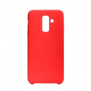 Forcell Silicone Case for SAMSUNG Galaxy A6 Plus 2018 red
