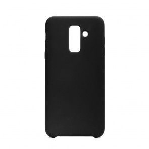 Forcell Silicone Case for SAMSUNG Galaxy A6 Plus 2018 black