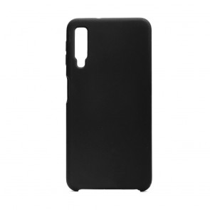 Forcell Silicone Case SAM Galaxy A7 2018 black