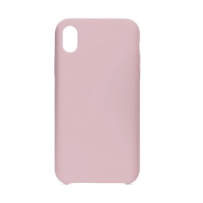"""Forcell Silicone Case Iphone XR ( 6,1"""" ) pink (without hole)"""