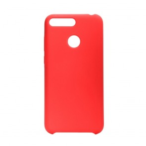 Forcell Silicone Case for HUAWEI Y6 2018 red