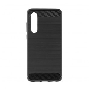 Forcell CARBON Case for HUAWEI P40 black