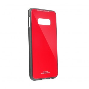 GLASS Case for SAMSUNG Galaxy S20 / S11e red