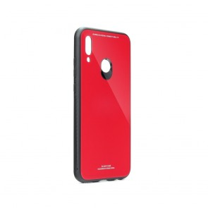 GLASS Case for HUAWEI P SMART 2019 red