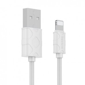 BASEUS cable Yaven working with Apple Lightning 2.1A 1m white