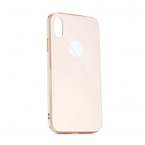 Forcell GLASS Premium Case for HUAWEI Y5 2019 rose gold