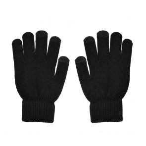 Touch screen gloves TRIANGLE for Woman black