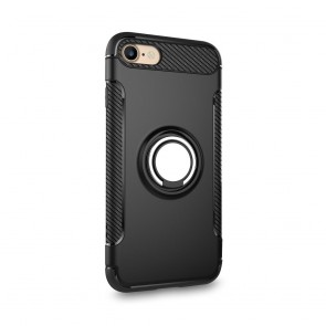 Forcell CARBON RING Case for IPHONE 11 PRO MAX balck