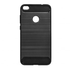 Forcell CARBON Case for HUAWEI P8 LITE 2017 / P9 LITE 2017 black