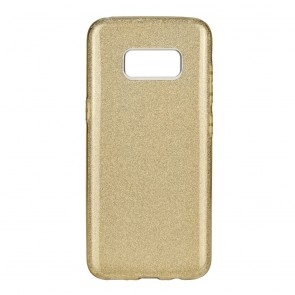 Forcell SHINING Case SAM Galaxy S8 gold