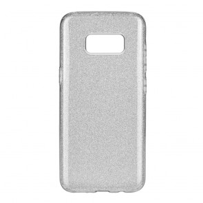 Forcell SHINING Case Samsung Galaxy S8 PLUS silver