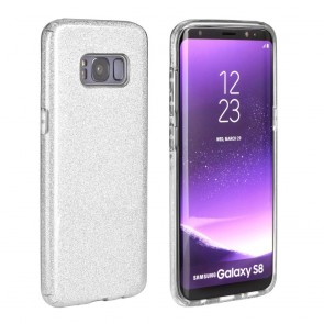 Forcell SHINING Case for HUAWEI P30 LITE silver
