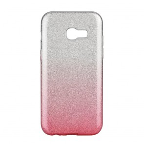 Forcell SHINING Case Samsung Galaxy A6 ( A6 2018 ) clear/pink
