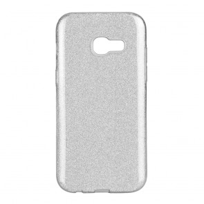 Forcell SHINING Case Samsung Galaxy A3 2017 silver