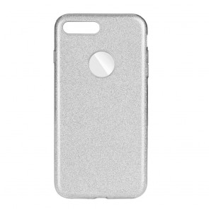 Forcell SHINING Case IPHO 7 Plus / 8 Plus silver