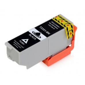 Συμβατό Inkjet για Epson, T3351, 24.4ml, Black