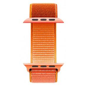 ROCKROSE nylon weave band Caveman για Apple Watch 42/44mm, πορτοκαλί