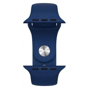ROCKROSE band σιλικόνης Rough Jade για Apple Watch 42/44mm, μπλε