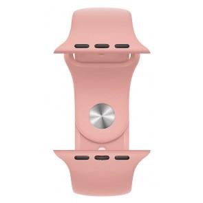 ROCKROSE band σιλικόνης Rough Jade για Apple Watch 42/44mm, ροζ