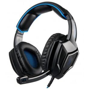 SADES gaming headset SA-920 Plus, 3.5mm, 40mm, μπλε