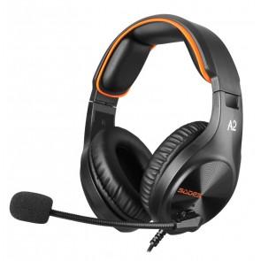 SADES Gaming Headset A2, multiplatform, 3.5mm, μαύρα