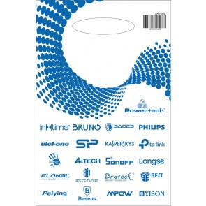 Σακούλα εμπορευμάτων τύπου χούφτας SAK-005 21 x 30, νάυλον, 40τμχ