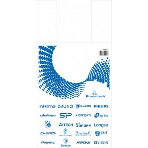 Σακούλα εμπορευμάτων τύπου φανελάκι SAK-007 30 x 60, νάυλον, 20τμχ
