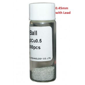 Solder Balls 0.45mm, with Lead, 25k