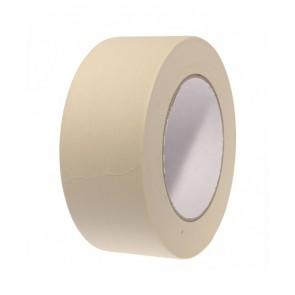 SELLOPLAST Χαρτοταινία Masking 60°C λευκή SEL-008, 48mm, 40m, 6τμχ