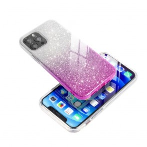Forcell SHINING Case for SAMSUNG Galaxy A32 5G clear/pink