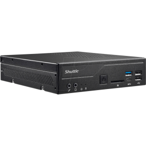 Shuttle Barebone DH310S Black
