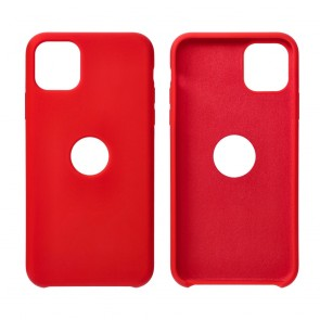 Forcell Silicone Case for SAMSUNG Galaxy S21 Ultra red