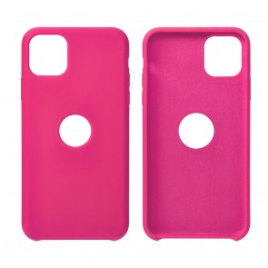 Forcell Silicone Case for SAMSUNG Galaxy S21 hot pink