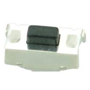 SMD Button - SMD Button, Nickel, Silver/Black
