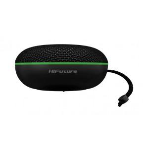 HIFUTURE φορητό ηχείο SOUNDMINI, Bluetooth 5.0, 5W, TWS, LED, μαύρο