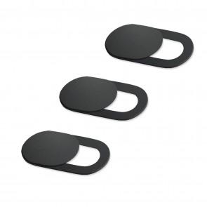 Προστατευτικό κάλυμμα κάμερας SPPIP-001, universal, 3τμχ, μαύρο