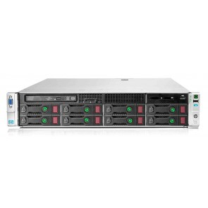 "HP Server ProLiant DL380p Gen8, 2x E5-2609, 16GB, DVD, 8x 2.5"", REF SQ"