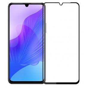 POWERTECH Tempered Glass 5D, full glue, Huawei Enjoy 20 5G, μαύρο