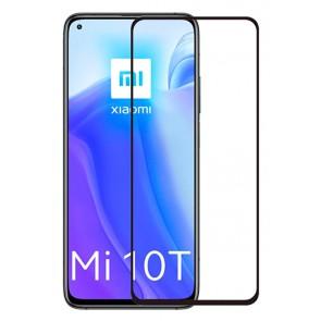 POWERTECH Tempered Glass 5D, full glue, Xiaomi Mi 10T/Lite/Pro 5G, μαύρο