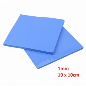 Thermal Pad 1mm, 10 x 10cm, Blue