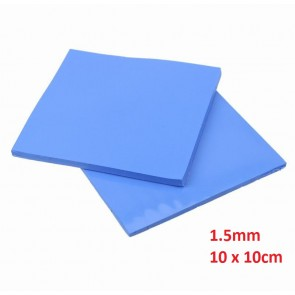 Thermal Pad 1.5mm, 10 x 10cm, Blue