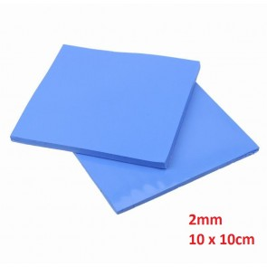 Thermal Pad 2mm, 10 x 10cm, Blue