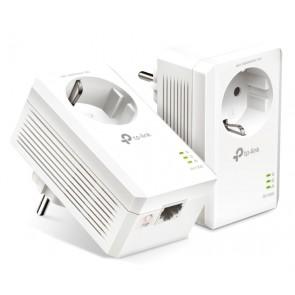 TP-LINK Powerline kit TL-PA7017P, Passthrough, AV100 Gigabit, Ver. 4.0
