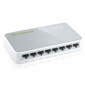 TP-LINK Desktop Switch TL-SF1008D, 8-port 10/100Mbps, Ver. 11