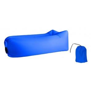 Φουσκωτό στρώμα lazy bag TMV-0028 με τσάντα μεταφοράς, 230x70cm, μπλε