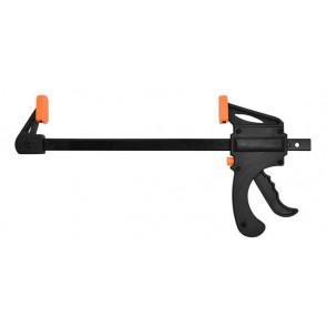 Σφιχτήρας με σκανδάλη και μεταλλικό στέλεχος TOOL-0025, μαύρος