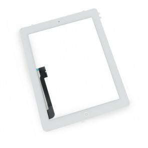 Touch Panel - Digitizer High Copy for iPad 3, with tape, White