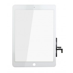 Touch Panel - Digitizer High Copy for iPad Air, bracket and tape, White