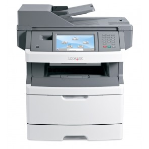 LEXMARK used MFP Printer X464DE, Laser, Mono, με toner