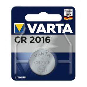 VARTA μπαταρία λιθίου CR2016, 3V, 1τμχ